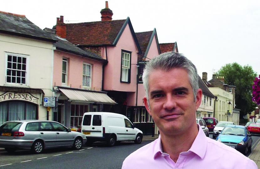 James Cartlidge MP Hadleigh